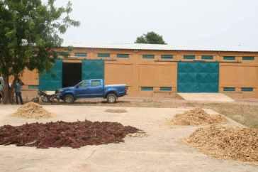 Entrepot pour le stockage des céréales et du riz à Mankoula