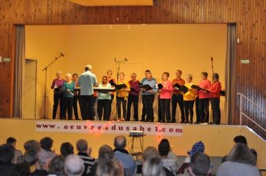 Superbe prestation de la chorale les Mozart en Herbe