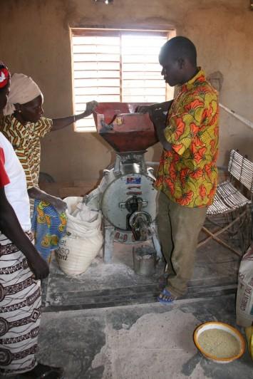 Agriculture 09Mankoula plateforme multifonctionnelle de 2007 en 2011 (1)