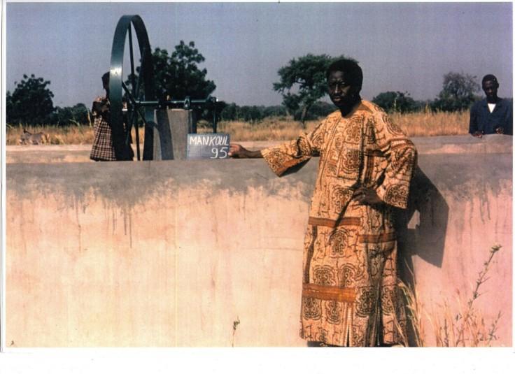Agriculture MAthieu Mankoula forage école 1995