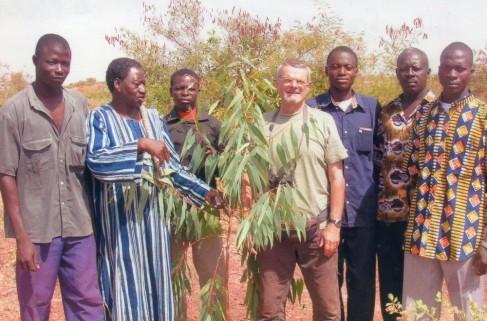 Agriculture Reboisement Claude Bois de Gisèle 2005