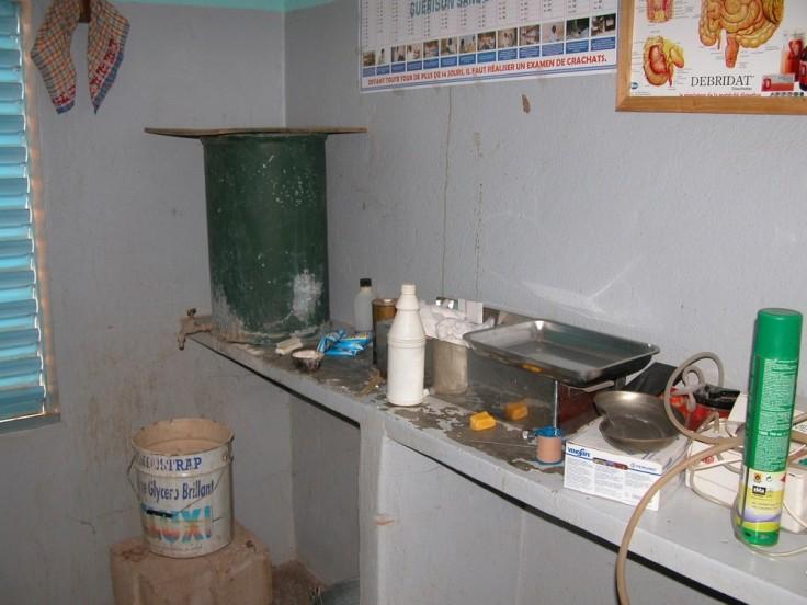 Santé Dispensaire Zorgho avant eau courante 2005